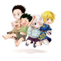 Hunter x Hunter - Children.. They look so cute!