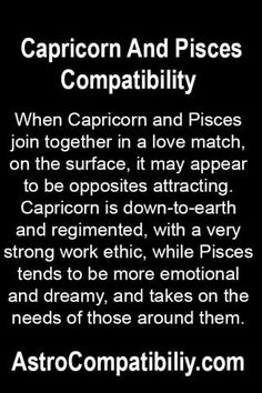 Capricorn and Pisces Compatibility: The Sage and the Dreamer