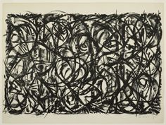 Lee Krasner  (American, 1908-1984,)  The Civet, 1962.  Lithograph on off-white wove paper.  490 x 938 mm (image,)  564 x 756 mm (sheet.)