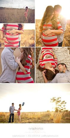 Outdoor maternity photos from ABC