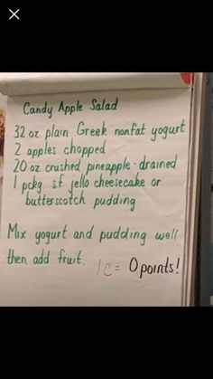 Diet fruit salad weight watchers 64 Ideas for 2019 Weight Watchers Snacks, Weight Watchers Smart Points, Ww Recipes, Skinny Recipes, Recipies, Fruit Recipes, Cookbook Recipes, Apple Recipes, Salad Recipes