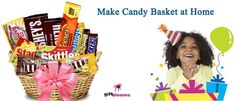 How to Make Candy Baskets at Home for Kids Birthday?