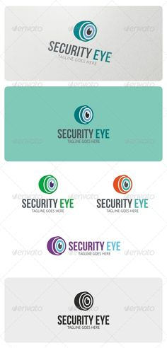 Security Eye  - Logo Design Template Vector #logotype Download it here: http://graphicriver.net/item/security-eye-logo-template/4939056?s_rank=1456?ref=nexion