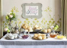Beautiful biscuit bar. Use variety of toppings: homemade jams, jellies, honey.