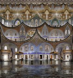 21-Harem-1-Jean-François-Rauzier-Surreal-Numerical-Photography-Hyperphoto-www-designstack-co