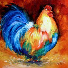 """Rooster"" par Marcia Baldwin"