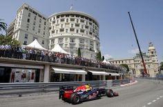 Hôtel de Paris during the Monaco Grand Prix...my favorite Formula One race!