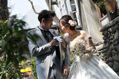 新郎新婦様からのメール フェリーチェガーデン日比谷の花嫁様から 春の儚きものたち : 一会 ウエディングの花