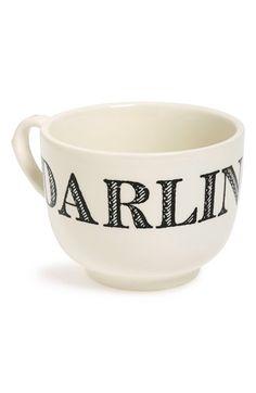 Sir Madam 'Grand Cup - Darling' Porcelain Mug