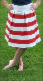 2nd Story Sewing: Knock-off Skirt
