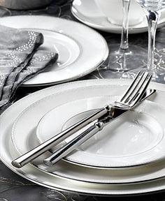 Monique Lhuillier Waterford Dinnerware and Flatware Monique Lhuillier, Kitchen Kapers, Fine China Dinnerware, Kitchenware, Tableware, China Sets, China Patterns, Stoneware, Dishes