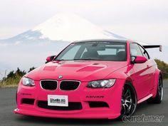 pink bmw <3.