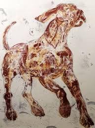 looks my big boy, dieseldog, the great dane. Animal Paintings, Animal Drawings, Dog Barking Video, Elisabeth Frink, Dog Artwork, Animal Projects, Dog Photography, Pet Portraits, Female Art