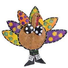 Colorful Turkey Door Hanger