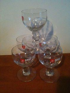 For Sale: 5 Beer glasses: Five original glasses Abdij Affligem Anno 1074...