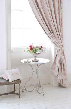 Georgian Roses Linen by Peony & Sage