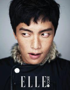 Lee Min Ki - Elle Magazine January Issue '15