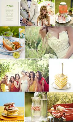 oh lemon and sunshine at my 2nd wedding to my 1st husband.