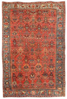 Antique Bidjar Rug-21795
