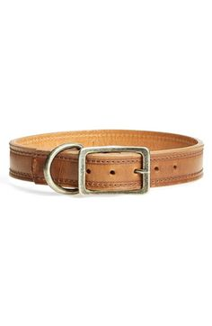 Will Leather Goods 'Napoli' Leather Dog Collar | Nordstrom