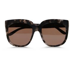 Stella Mccartney Oversized Square Sunglasses ($189) ❤ liked on Polyvore featuring accessories, eyewear, sunglasses, glasses, concrete, square sunglasses, matte sunglasses, rounded sunglasses, oversized sunglasses and square frame glasses