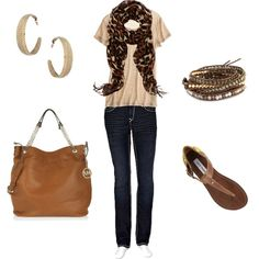 """Everyday Casual Look!"" by kimmyann1965 on Polyvore"