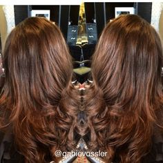 Haircut and style by Gabie Vossler - Hawaii #hairstylist #haircut #summerhair