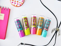Culia font being used in Baby Lips Pop Art by Maybelline New York