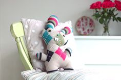 Transform an Old Sweater Into an Adorable Bunny Softie for Easter | Crafttuts+