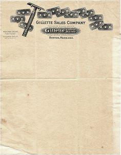 gillete letterhead