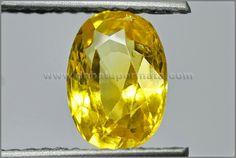 Batu Mulia Yellow SAPPHIRE Sri Lanka  Code:BSC 068 Nama:Yellow SAPPHIRE Asal/Origin:Sri Lanka Berat Batu:1.84 ct Size/Ukuran:8.2 x 5.6 x 4.3 mm