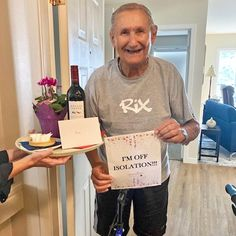 One of our new residents at Hawthorn Park Retirement Residence in Kelowna completed their 14 day quarantine and we couldn't be happier for him! Way to go Peter - You did amazing! 😄👏 #vervecares #community #quarantine #socialdistance #goodtimes Wellness Activities, Assisted Living, Senior Living, Paper Shopping Bag, Good Times, Retirement, Community, Park, Amazing