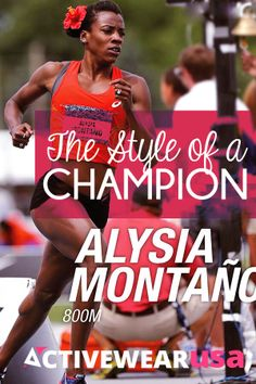 The Style Of A Champion - Meet Alysia Montano, a five-time U.S. track and field champion, an Olympian, a fashionista and now a mom-to-be.