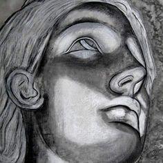 Sally Jane Payne - Saorsa (n.) Freedom, liberty. Charcoal drawing from statue in Florence. #portraitpainter #portrait #art #art #arte #contemporaryart #quotes #artistsofinstagram #artiststudio #myart #wordporn #words #artists #instaart #instaartist #contemporaryartist #fineart #myart #artonline #onlineartgallery #instaartwork #artinfo #artinspiration #statues #painters #painting #illustrator #positivemind #femaleartist