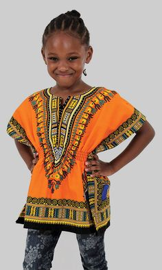 066d5259152 Traditional African Print Kid s Dashiki Shirt - African style kid s dashiki  shirt in many colors and