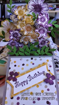 Relax. Make a Card: Card in a Box with Petite Petals and Flower Shop
