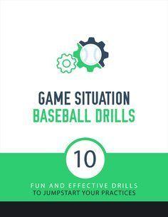 Game Situation Baseball Drills — Baseball Drills | Youth Baseball Coaching | Baseball Tutorials
