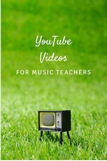YouTube videos for music teachers: includes videos of folk songs, dances, lesson planning tutorials, and more!