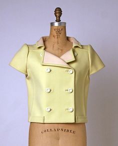Jacket André Courrèges (French, born 1923) Date: 1965 Culture: French Medium: wool
