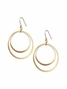 Double hoop earring | Banana Republic