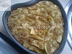 0404201314775 Greek Desserts, Apple Pie, Cake Recipes, Food And Drink, Cooking, Kitchen, Kochen, Apple Pie Cake, Brewing