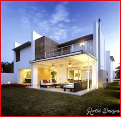 Architecture Beautiful Minimalist House Design Ideas With Colorful