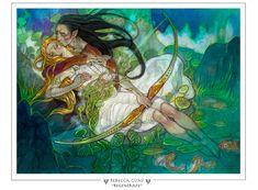 Regenerate Magic The Gathering Prints - Rebecca Guay