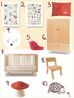 Nature trend for the kids room