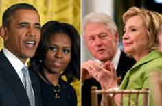 Do the Clintons and Obamas hate each other?
