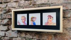 3  Dibujos originales enmarcados de H. PETRE, $350 en http://ofeliafeliz.com.ar