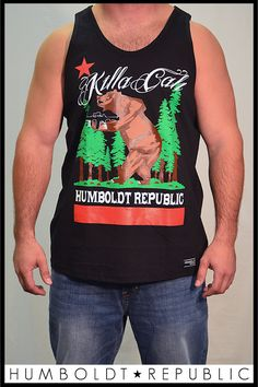 Killa Cali Mens Tank, $19.99 by Humboldt Republic