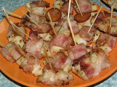 Hawaiian Pizza, Ricotta, Potato Salad, Sausage, Pork, Food And Drink, Potatoes, Meat, Cooking