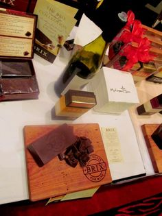 Chocolate and wine tasting by Brix Chocolate