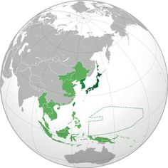 Japanese empire. The dark green part was the actual territory of the Empire between 1870 and 1905. The lighter areas were acquisitions between 1905-1930 (medium green) and 1930-1942 (light green).